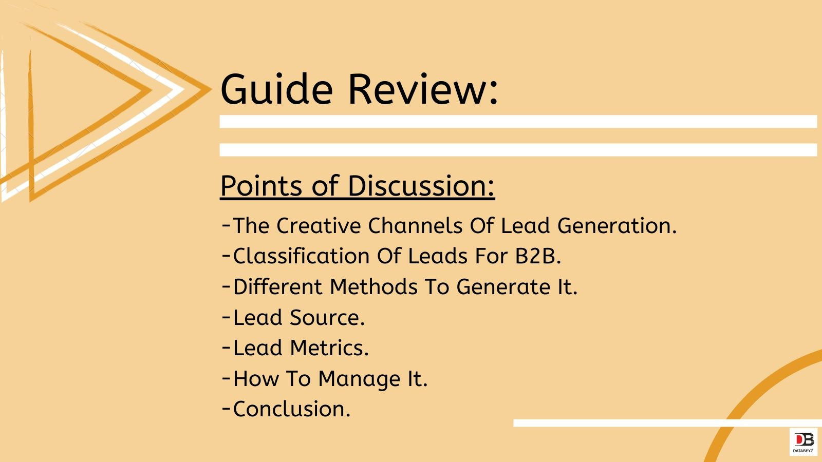 Terrific Facts To Learn All About Leads - Guide Review | Databeyz